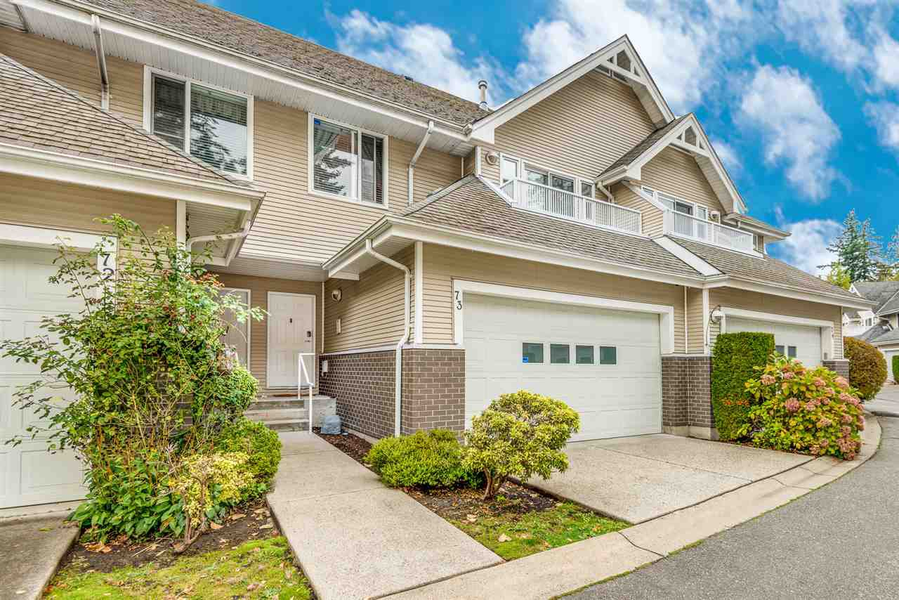 "Main Photo: 73 13918 58 Avenue in Surrey: Panorama Ridge Townhouse for sale in ""Alder Park"" : MLS®# R2508439"