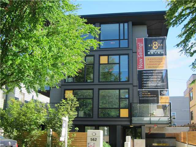 Main Photo: 568 E 7TH Avenue in Vancouver: Mount Pleasant VE Condo for sale (Vancouver East)  : MLS®# V1073210