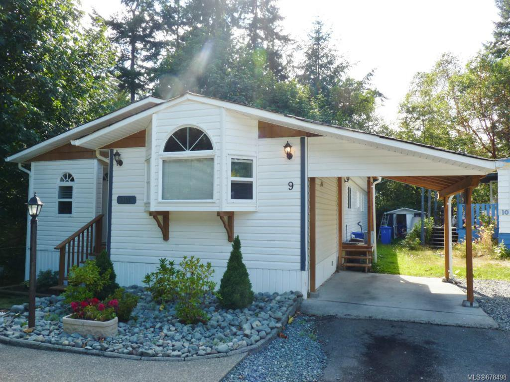 Photo 1: Photos: 9 2785 Wallbank Rd in SHAWNIGAN LAKE: ML Shawnigan Manufactured Home for sale (Malahat & Area)  : MLS®# 678498