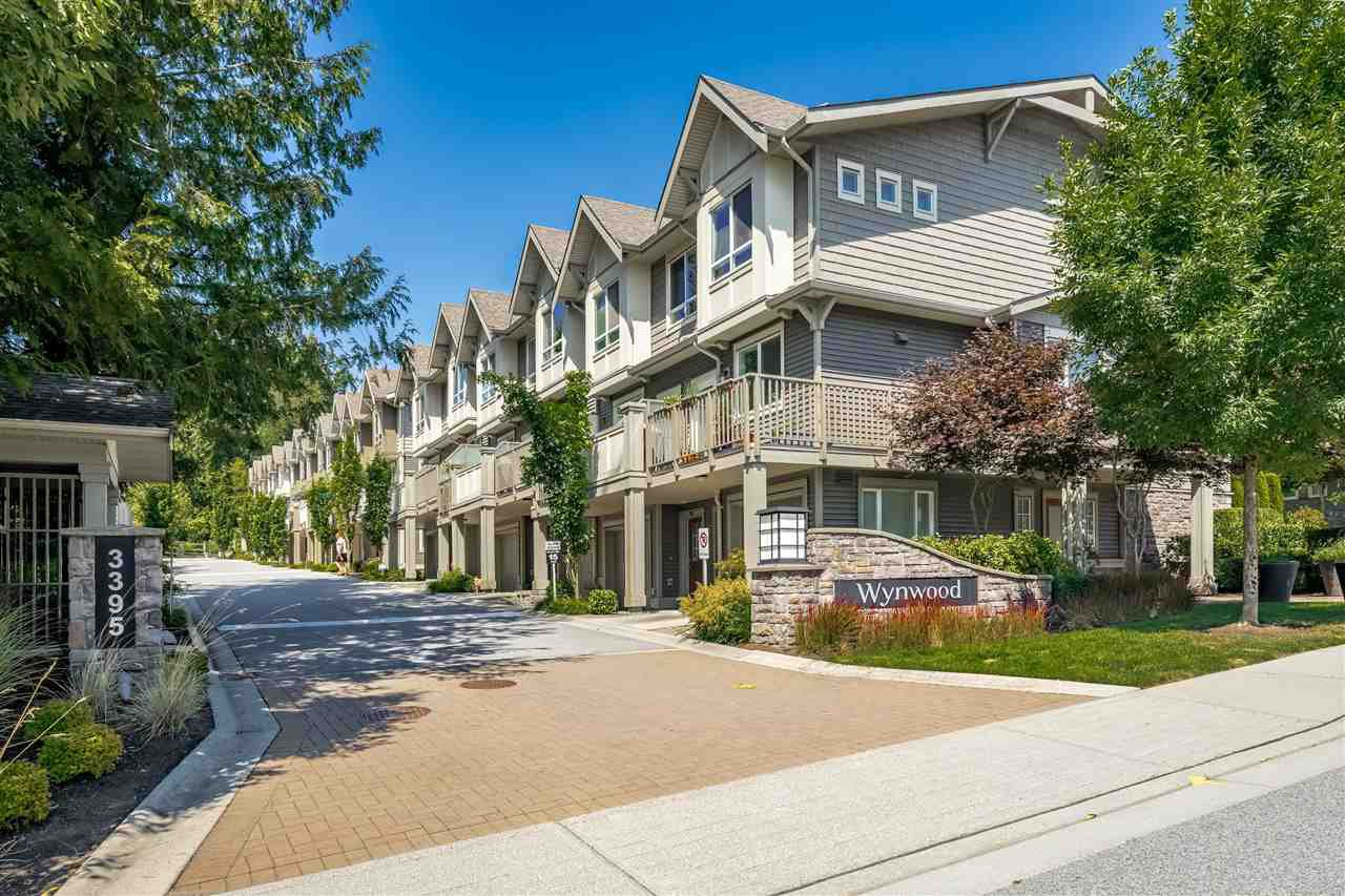 "Main Photo: 29 3395 GALLOWAY Avenue in Coquitlam: Burke Mountain Townhouse for sale in ""WYNWOOD"" : MLS®# R2410841"