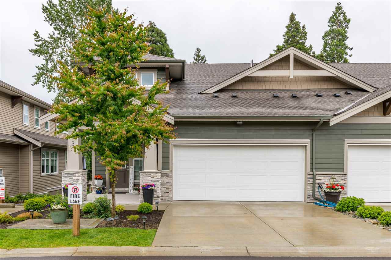 "Main Photo: 37 7138 210 Street in Langley: Willoughby Heights Townhouse for sale in ""Prestwick"" : MLS®# R2473747"
