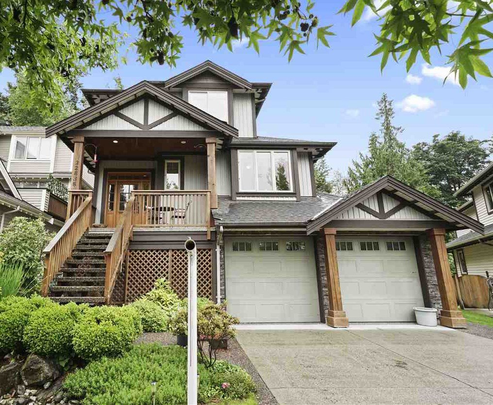 Main Photo: 22838 DOCKSTEADER Circle in Maple Ridge: Silver Valley House for sale : MLS®# R2475744