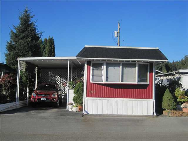 """Main Photo: 101 201 CAYER Street in Coquitlam: Maillardville Manufactured Home for sale in """"WILDWOOD PARK"""" : MLS®# V1006135"""