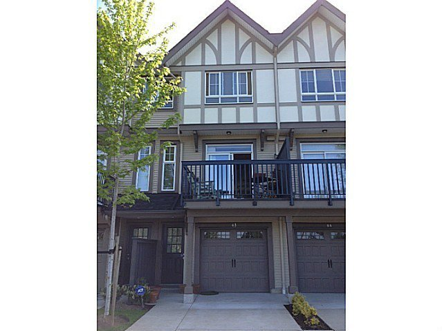 Main Photo: # 83 1338 HAMES CR in Coquitlam: Burke Mountain Townhouse for sale : MLS®# V1067004