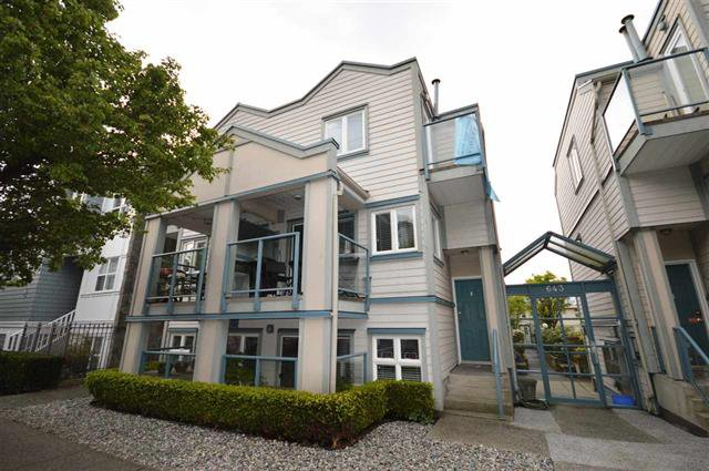 Main Photo: 645 W 7th Avenue in Vancouver: Fairview VW Townhouse for sale (Vancouver West)  : MLS®# R2057868