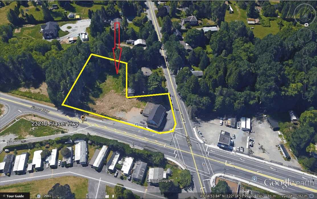 Main Photo: 23210 FRASER HIGHWAY in Langley: Retail  : MLS®# C8010291