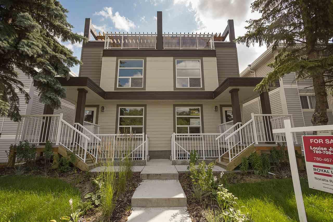 Main Photo: 9717 82 Avenue in Edmonton: Zone 17 Townhouse for sale : MLS®# E4169603