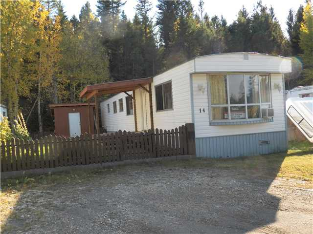 "Main Photo: 14 704 DOG CREEK Road in Williams Lake: Williams Lake - City Manufactured Home for sale in ""HILLSIDE MOBILE HOME PARK"" (Williams Lake (Zone 27))  : MLS®# N224042"