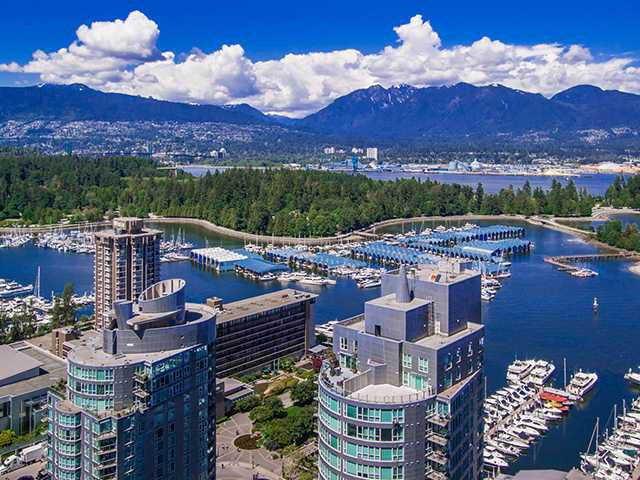 "Main Photo: 3202 1499 W PENDER Street in Vancouver: Coal Harbour Condo for sale in ""WEST PENDER PLACE"" (Vancouver West)  : MLS®# V1010625"