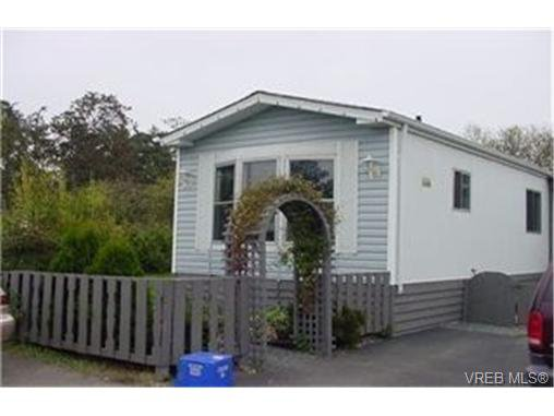 Main Photo: 8 1521 Cooper Rd in VICTORIA: VR Glentana Manufactured Home for sale (View Royal)  : MLS®# 329380