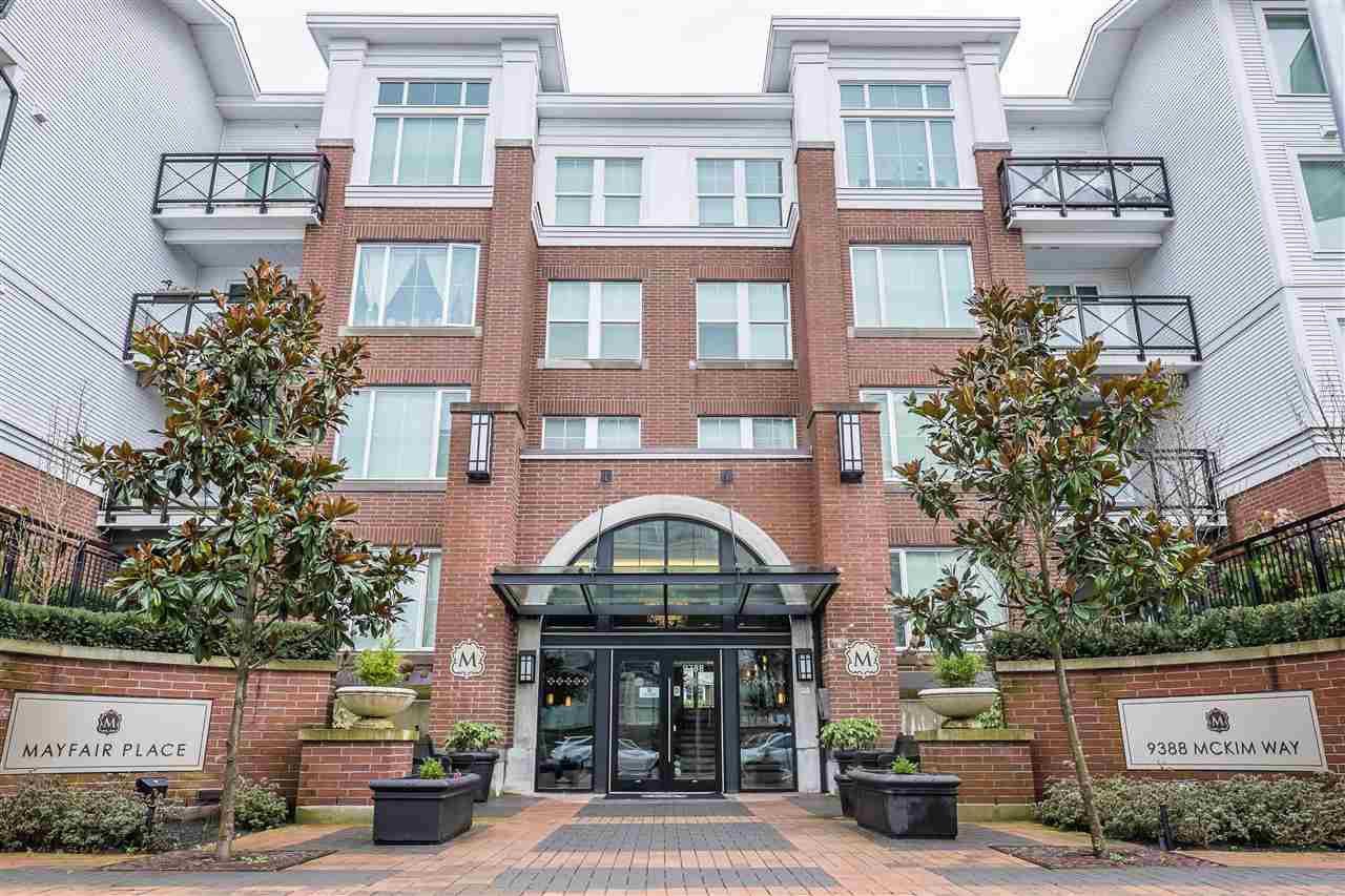 Main Photo: 341 9388 MCKIM WAY in Richmond: West Cambie Condo for sale : MLS®# R2039726