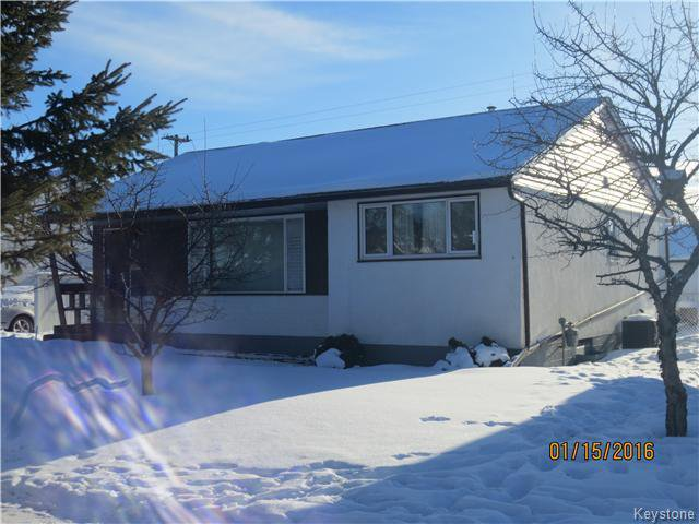 Main Photo: 98 portland Ave in winnipeg: Single Family Detached for sale : MLS®# 1601080
