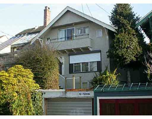 Main Photo: 1636 STEPHENS ST in : Kitsilano Duplex for sale : MLS®# V369933