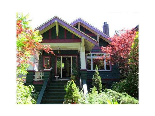 Photo 1: Photos: 972 W 23RD AV in Vancouver: Cambie House for sale (Vancouver West)  : MLS®# V1117315
