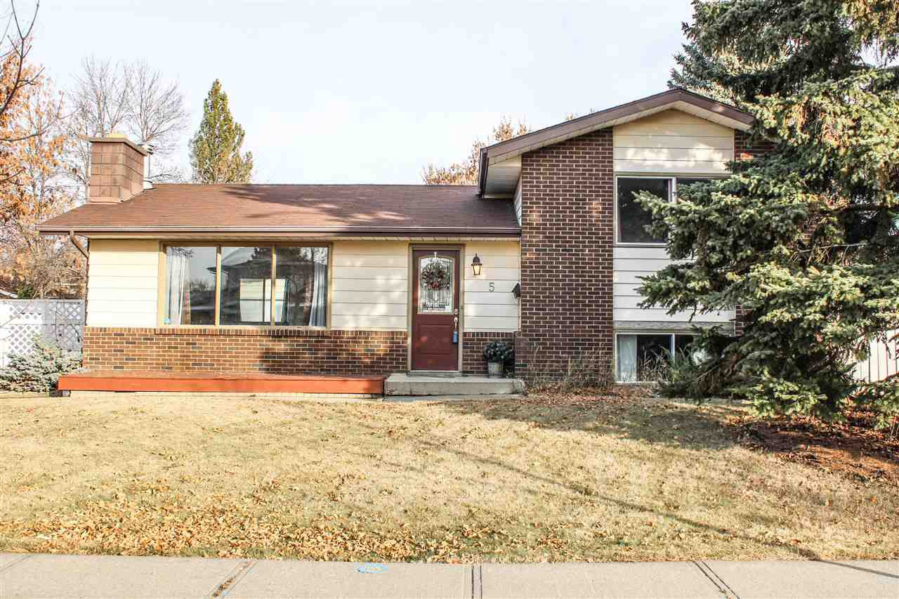 Main Photo: 5 ANDREW Crescent: St. Albert House for sale : MLS®# E4218969