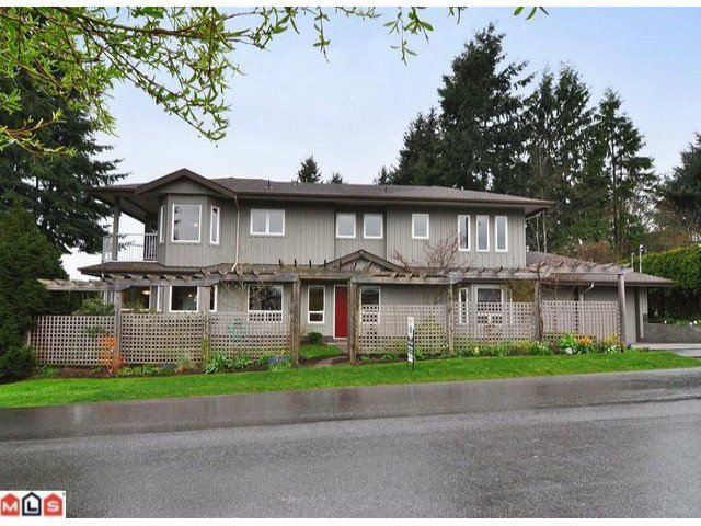 "Main Photo: 1047 STEVENS Street: White Rock House for sale in ""WHITE ROCK"" (South Surrey White Rock)  : MLS®# F1209554"