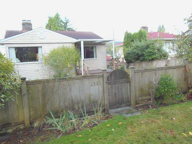 Main Photo: 2333 JONES Avenue in North Vancouver: Central Lonsdale House for sale : MLS®# V977765
