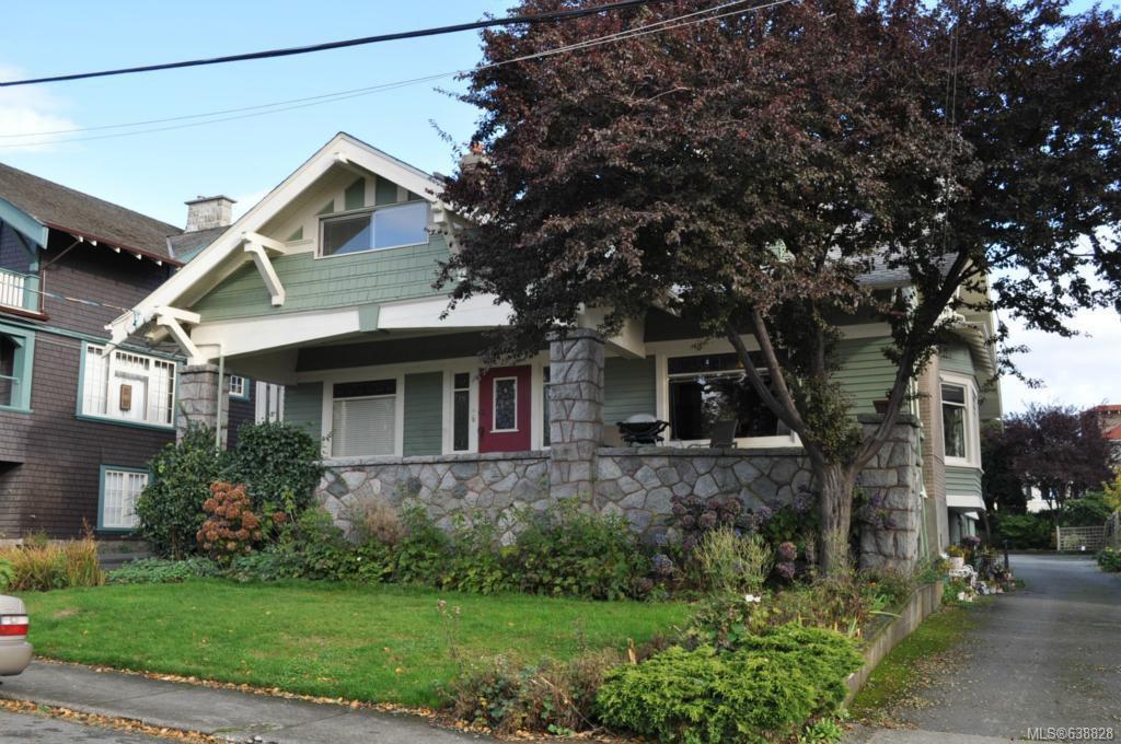 Main Photo: 27 Olympia Ave in VICTORIA: Vi James Bay Multi Family for sale (Victoria)  : MLS®# 638828