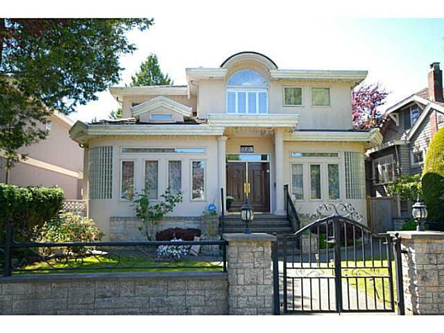 Main Photo: 6733 Cypress Street in Vancouver: Kerrisdale House for sale (Vancouver West)  : MLS®# V1070215