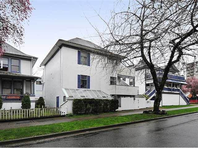 Main Photo: 1038 CARDERO ST in Vancouver: West End VW Multifamily for sale (Vancouver West)  : MLS®# V1036593