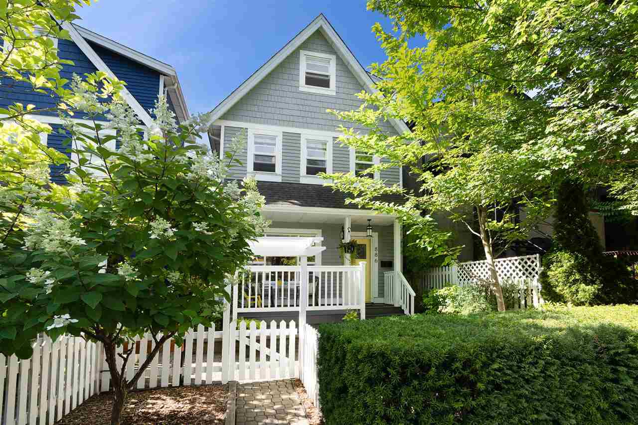 Main Photo: 886 UNION Street in Vancouver: Strathcona House 1/2 Duplex for sale (Vancouver East)  : MLS®# R2479143