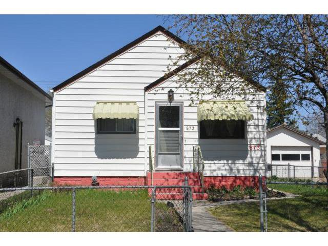 Main Photo: 873 Beach Avenue in WINNIPEG: East Kildonan Residential for sale (North East Winnipeg)  : MLS®# 1211072