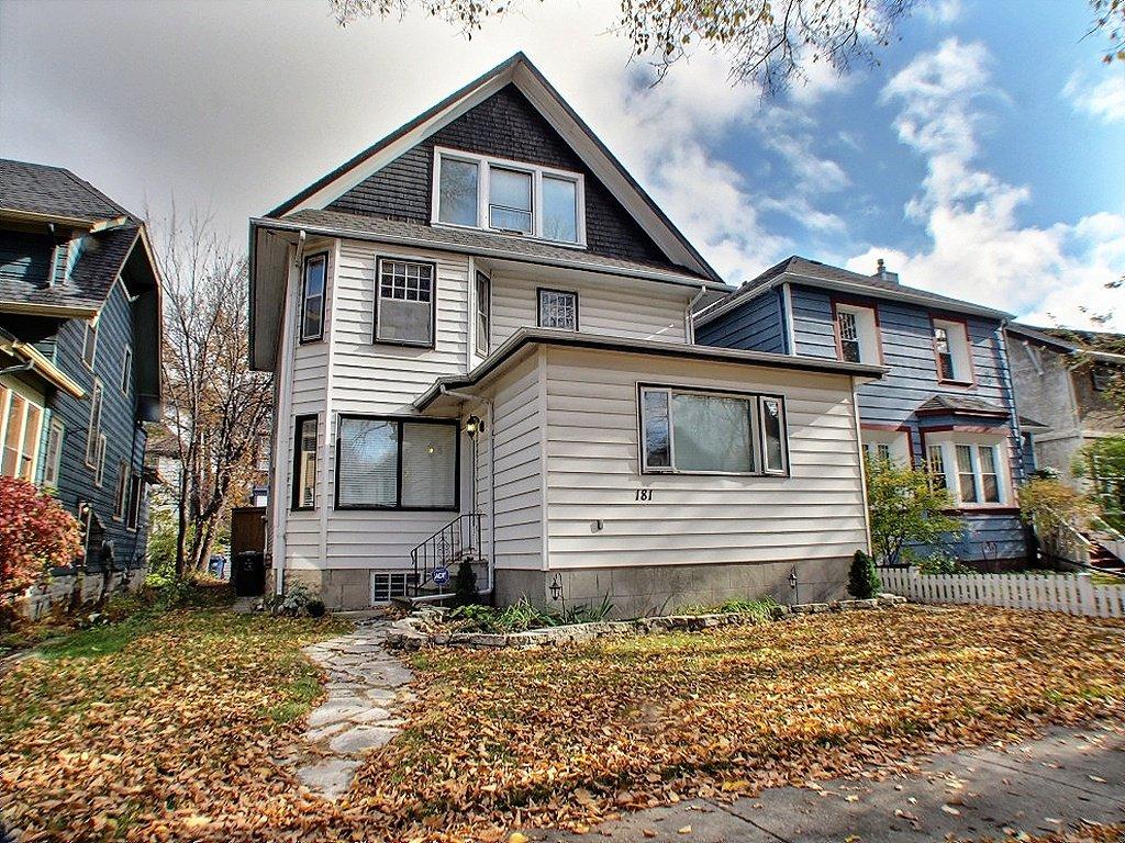 Main Photo: 181 Ethelbert Street in Winnipeg: Wolseley Residential for sale (Central Winnipeg)  : MLS®# 1323264