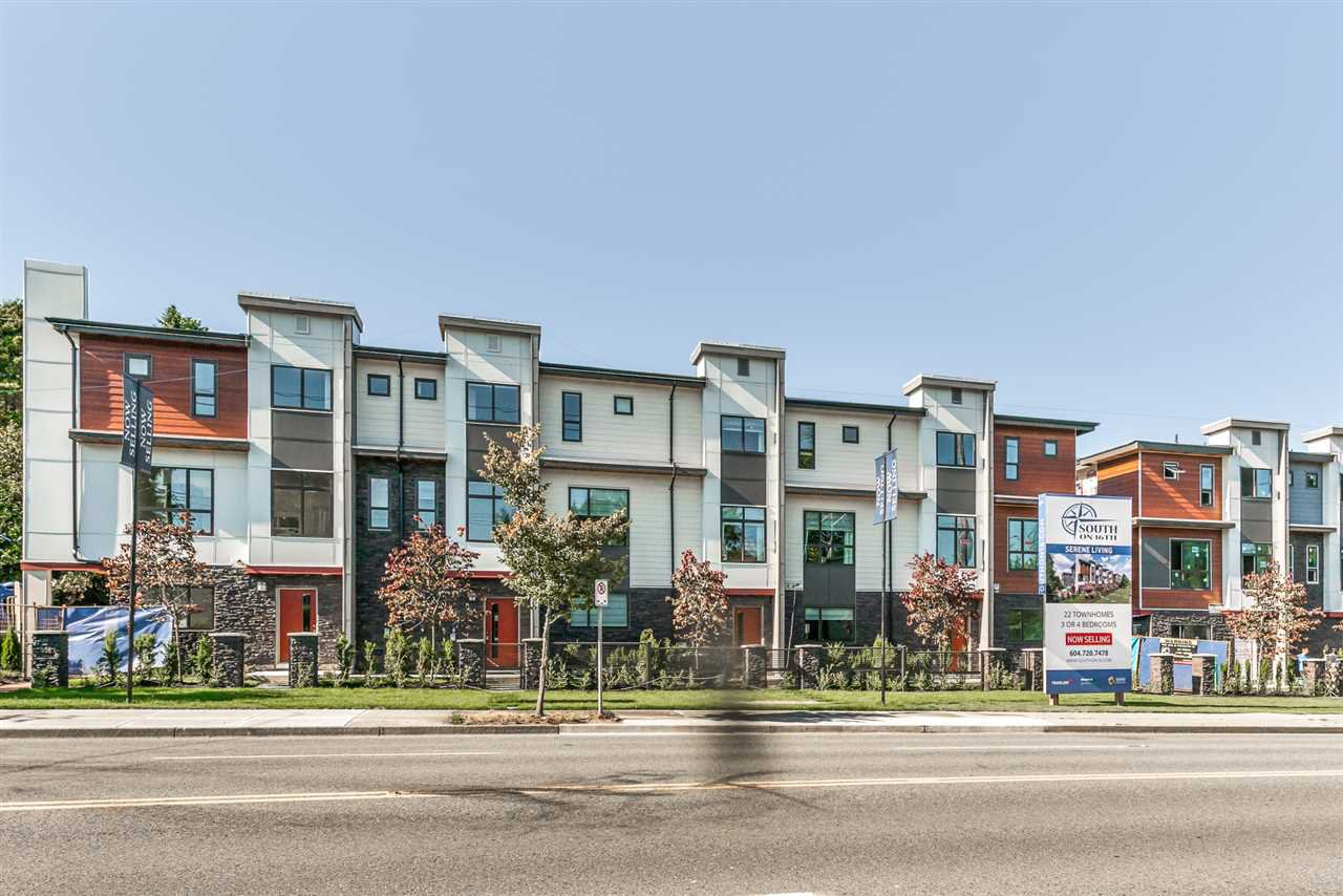 Main Photo: 5 15885 16 AVENUE in : Sunnyside Park Surrey Townhouse for sale : MLS®# R2129728