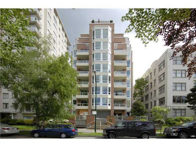 """Main Photo: # 601 1935 HARO ST in Vancouver: West End VW Condo for sale in """"SUNDIAL AT THE PARK"""" (Vancouver West)  : MLS®# V1024147"""