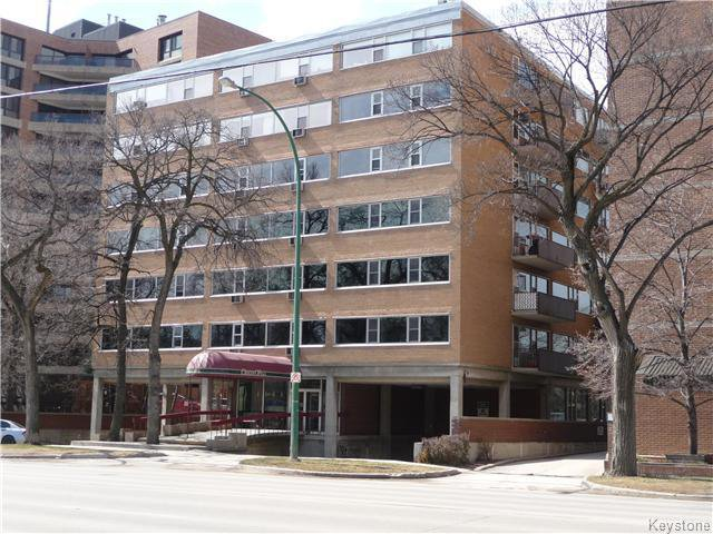 Main Photo: 603 245 Wellington Crescent in Winnipeg: Osborne Village Condominium for sale (1B)  : MLS®# 1626263