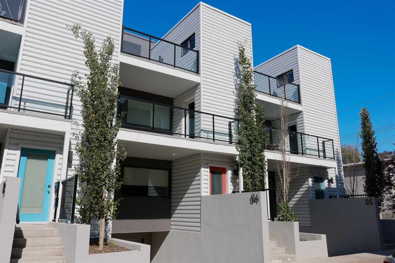 Main Photo: #4 10307 120 Street NW in Edmonton: Zone 12 Townhouse for sale : MLS®# E4184102