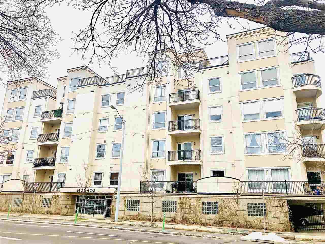 Main Photo: 310 10707 102 Avenue in Edmonton: Zone 12 Condo for sale : MLS®# E4192500