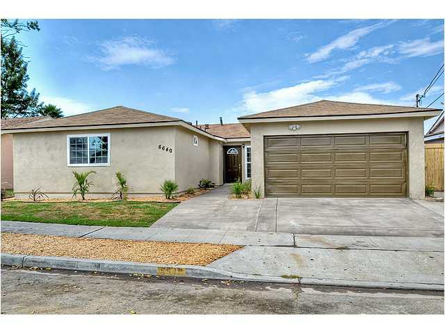 Main Photo: CLAIREMONT House for sale : 4 bedrooms : 6640 Tanglewood Road in San Diego