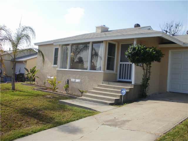 Main Photo: SAN DIEGO House for sale : 3 bedrooms : 6820 Waite Drive