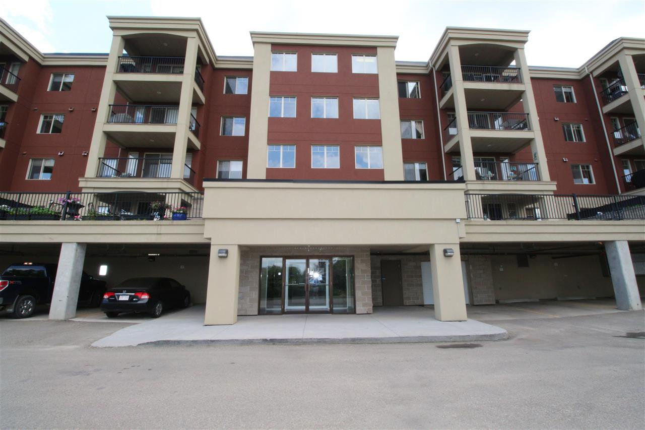 Main Photo: 209 500 PALISADES Way: Sherwood Park Condo for sale : MLS®# E4174472