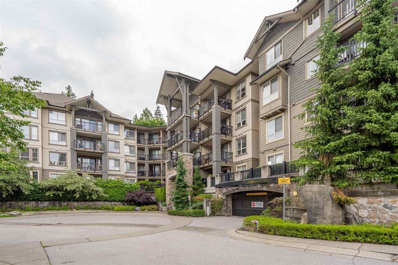 "Main Photo: 317 2969 WHISPER Way in Coquitlam: Westwood Plateau Condo for sale in ""SUMMERLIN AT SILVER SPRINGS"" : MLS®# R2465684"