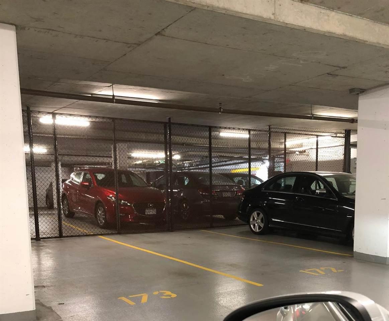 Side by side parkings