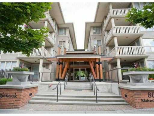 "Main Photo: 110 801 KLAHANIE Drive in Port Moody: Port Moody Centre Condo for sale in ""INGLENOOK"" : MLS®# V943064"