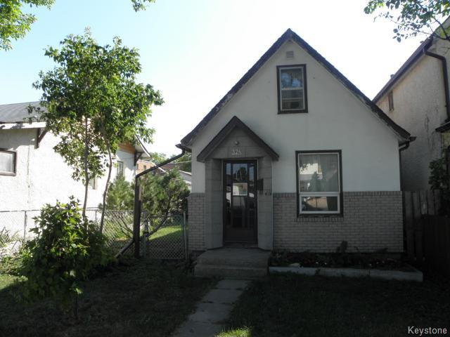 Main Photo: 324 Riverton Avenue in WINNIPEG: East Kildonan Residential for sale (North East Winnipeg)  : MLS®# 1319390