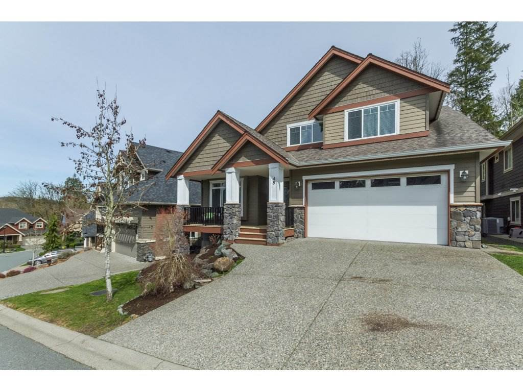 Main Photo: 48 3800 GOLF COURSE DRIVE in Abbotsford: Abbotsford East House for sale : MLS®# R2155069