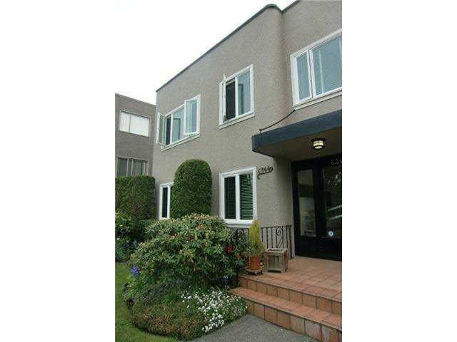 Main Photo: 9 6344 EAST BOULEVARD in : Kerrisdale Condo for sale : MLS®# V896199