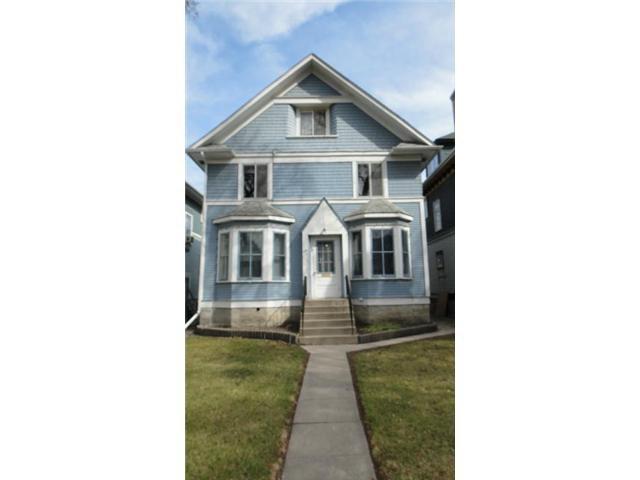 Main Photo: 189 HOME Street in WINNIPEG: West End / Wolseley Residential for sale (West Winnipeg)  : MLS®# 1206957