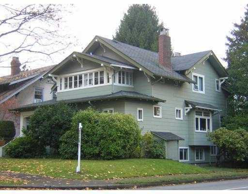 Main Photo: 1805 W 13TH AV in : Kitsilano House for sale : MLS®# V797051