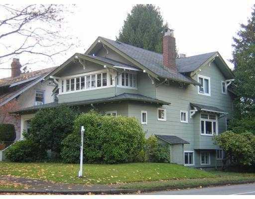 Main Photo: 1805 W 13TH AV in : Kitsilano House for sale : MLS®# V797051