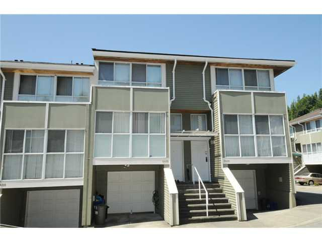 "Main Photo: 8403 CORNERSTONE ST in Vancouver: Champlain Heights Townhouse for sale in ""Marine Woods"" (Vancouver East)  : MLS®# V1017221"