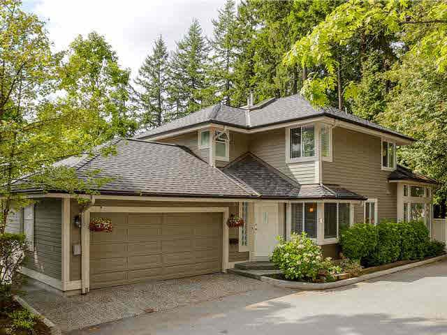 Main Photo: 5 181 RAVINE DRIVE in PORT MOODY: Heritage Mountain Townhouse for sale (Port Moody)  : MLS®# V1142572