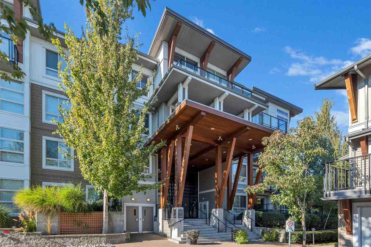 "Main Photo: 309 6688 120 Street in Surrey: West Newton Condo for sale in ""ZEN AT SALUS"" : MLS®# R2512506"