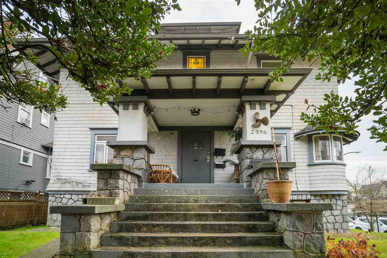 Main Photo: 2396 W 5TH Avenue in Vancouver: Kitsilano House for sale (Vancouver West)  : MLS®# R2517853