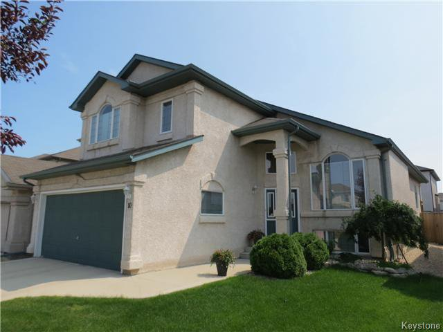 Main Photo: 10 Harding Crescent in WINNIPEG: St Vital Residential for sale (South East Winnipeg)  : MLS®# 1417408