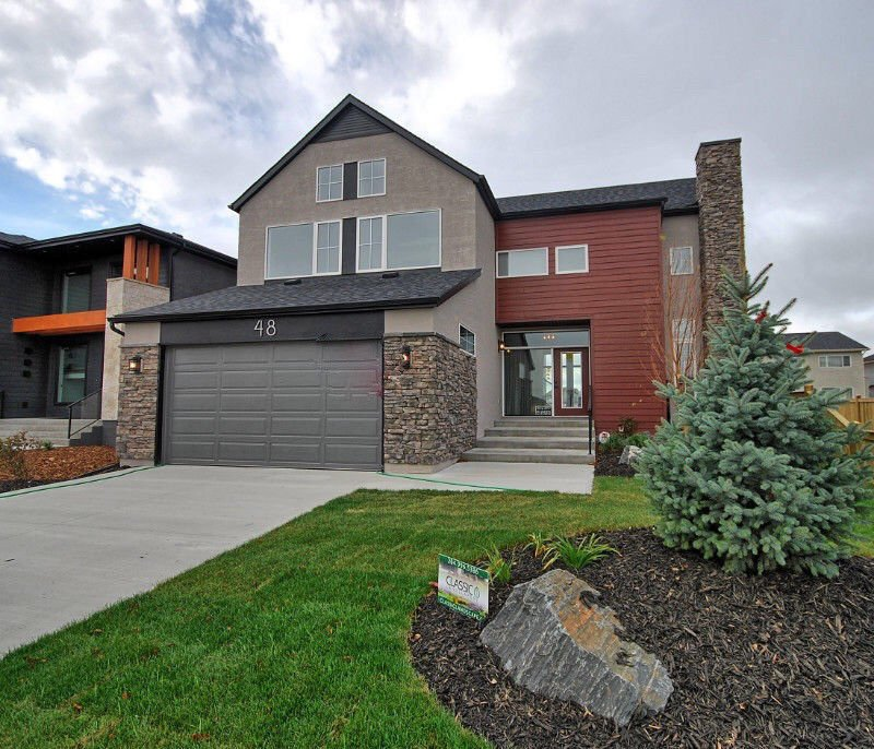 Main Photo: 48 West Plains Drive in Winnipeg: Sage Creek Single Family Detached for sale (2K)